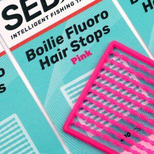 Sedo Boilie Fluoro Hair Stops – Pink
