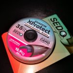 Sedo Shadow XProtect-Coated Hooklink Brown ( barna ) 15lbs 20m Bevonatos előkezsinór