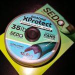 Sedo Shadow XProtect-Coated Hooklink Green ( zöld ) 25 lbs 20m Bevonatos Előkezsinór