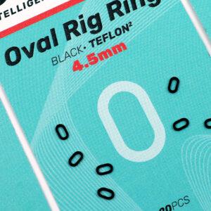 Sedo Oval Ring Black Ring 4.5mm