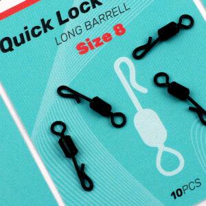 Sedo Quick Lock Swivel Long Barel – Size 8
