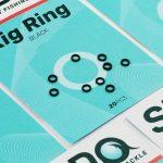 Sedo Rig Black Ring 3.1mm
