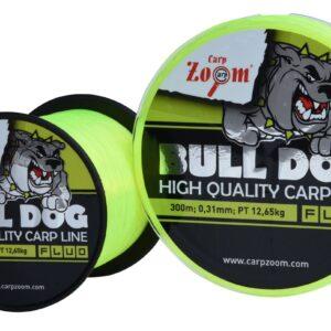 Carp Zoom Bull-Dog Fluo Monofil pontyozó horgászzsinór 300m, 0,22mm, 6,90kg