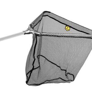 Delphin merítőhalló fém fejcsatlakozással 70×70/200