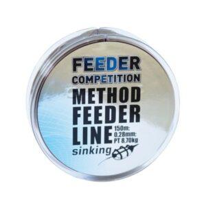 Feeder Competition Method Süllyedő Feeder zsinór, 150m, 0,16mm, PT 3,50kg