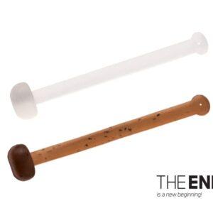 THE END Elasztikus csalistopper / 36db 18,21,25 mm mix